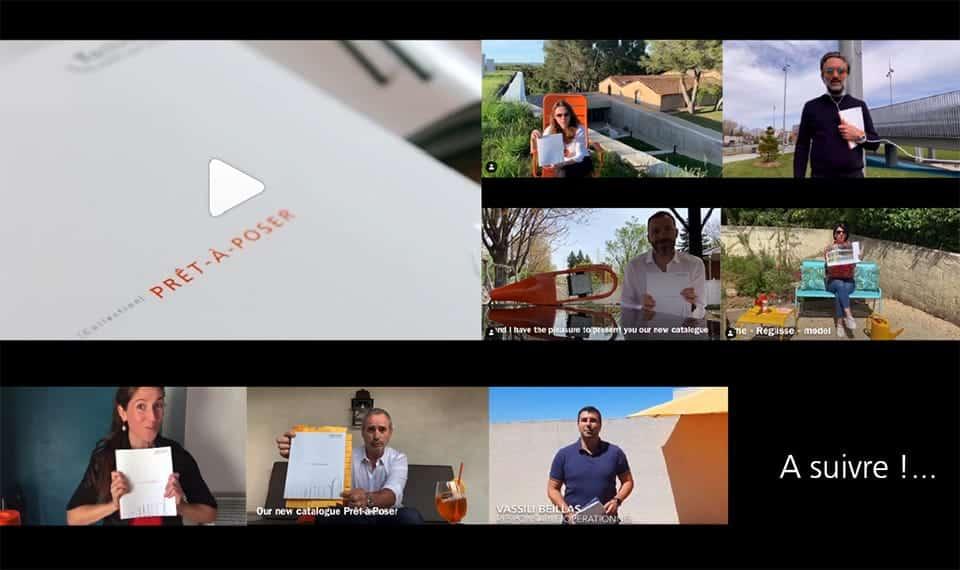 Vidéos Catalogue Réseaux sociaux