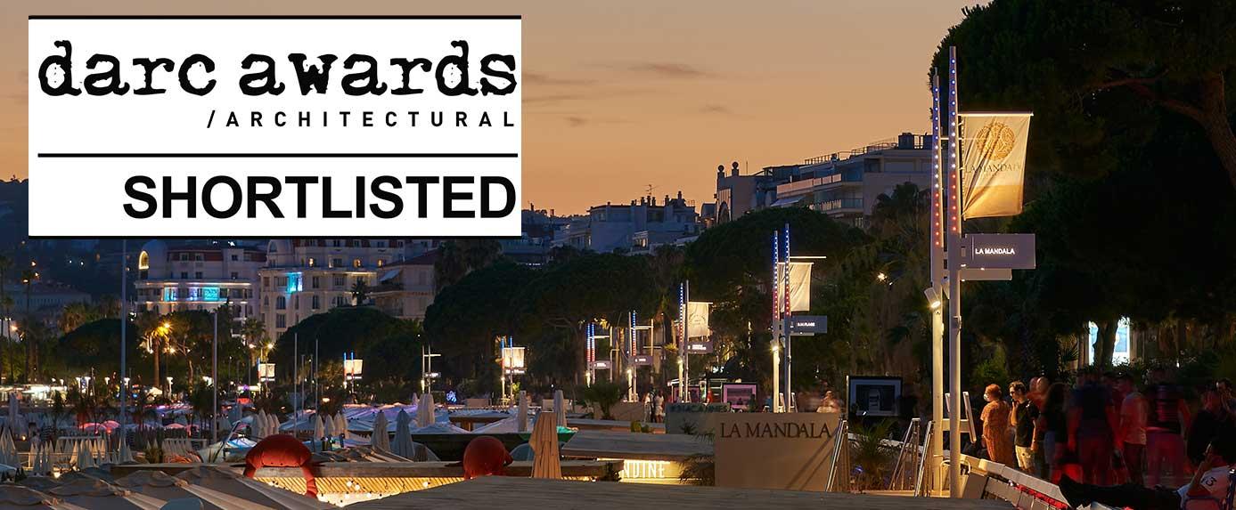 Photo de la baie de Cannes, projet sélectionné aux Darc Awards