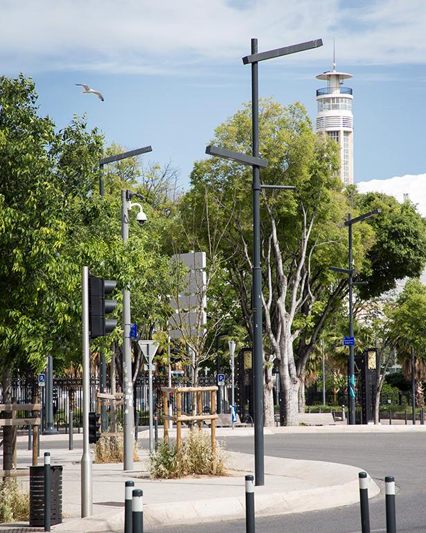 Prado roundabout
