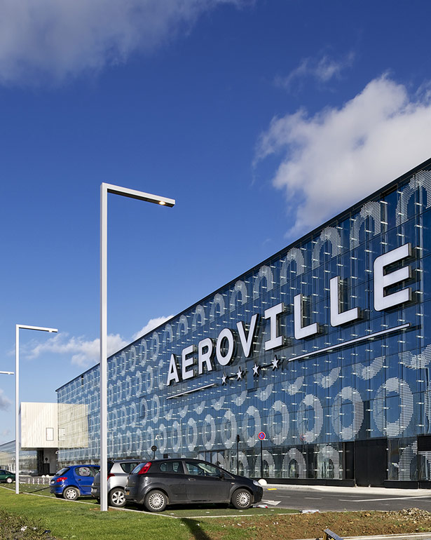 Aéroville shopping center