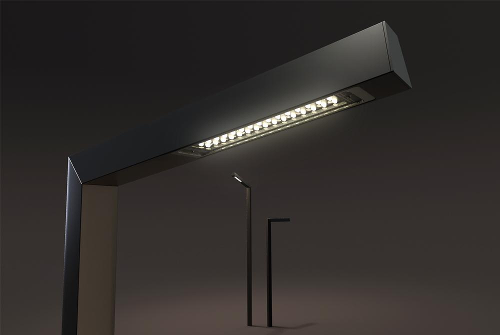 mikado nano de technilum lampadaire led aluminium pour clairage d 39 ambiance technilum. Black Bedroom Furniture Sets. Home Design Ideas